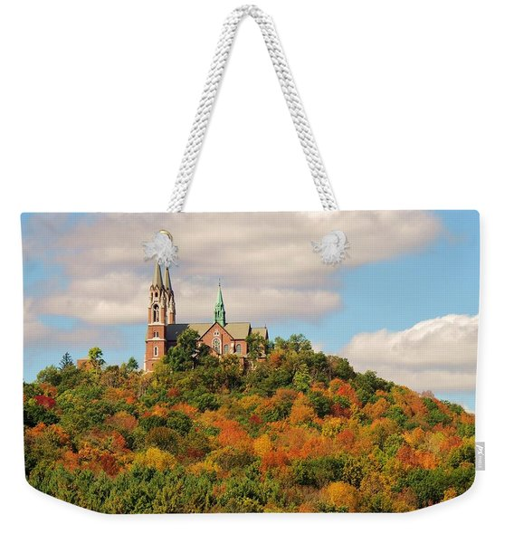 Holy Hill In Living Colors Weekender Tote Bag