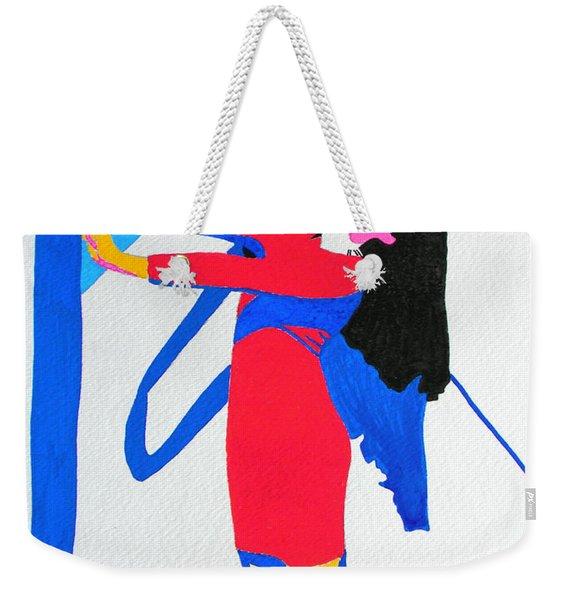 Homage To Carven Weekender Tote Bag