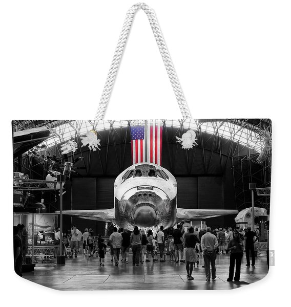 Weekender Tote Bag featuring the photograph Home At Last by Jim Thompson