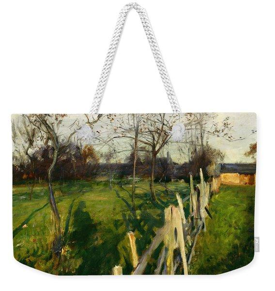 Home Fields Weekender Tote Bag