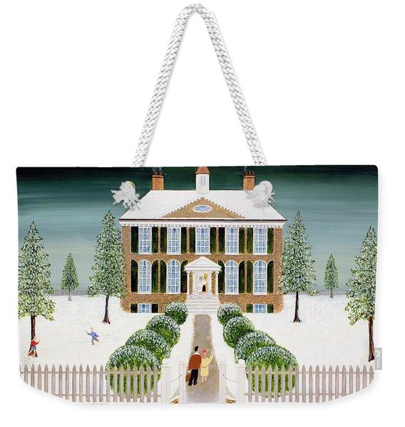 Home For Christmas Weekender Tote Bag