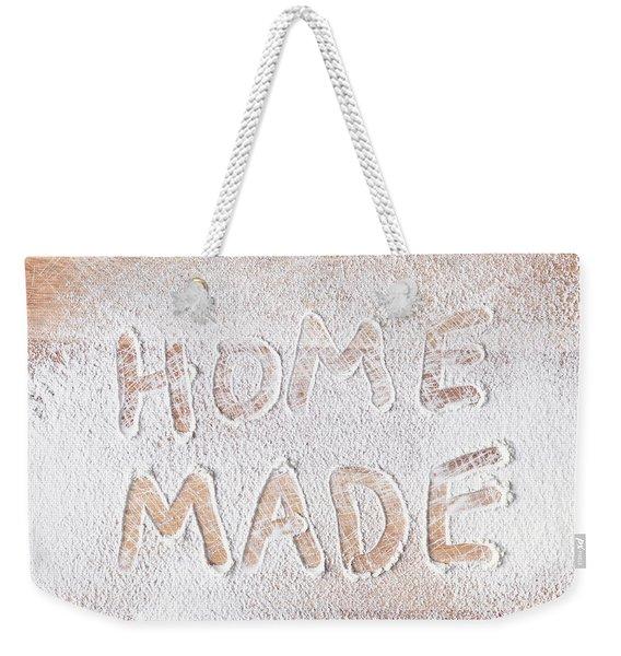 Home Made Weekender Tote Bag
