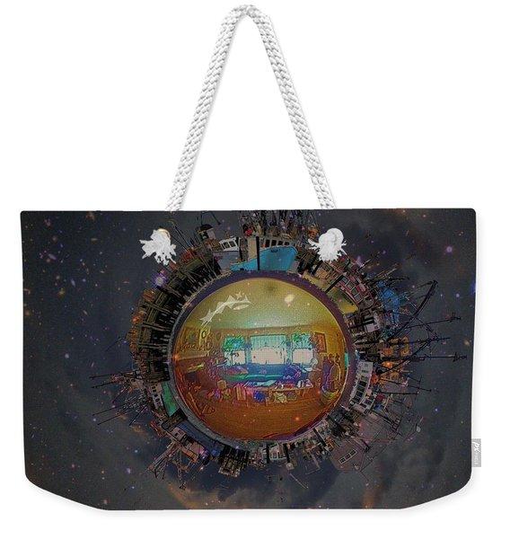 Home Planet Weekender Tote Bag