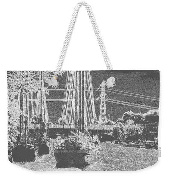 Home Sail Weekender Tote Bag
