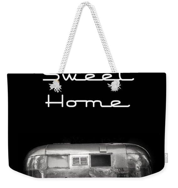 Home Sweet Home Vintage Airstream Weekender Tote Bag