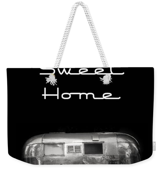 Home Sweet Home Vintage Airstream Weekender Tote Bag