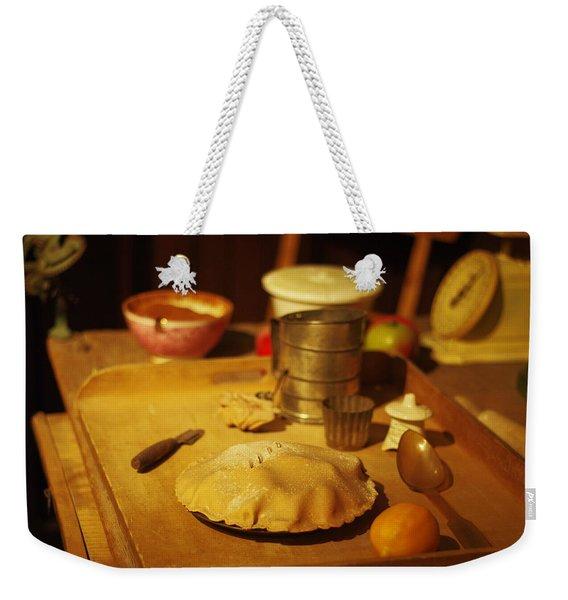 Homemade Pie Weekender Tote Bag