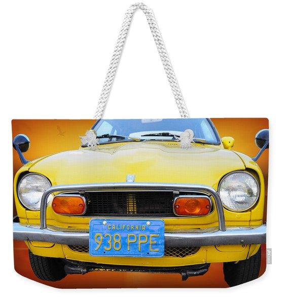Honda Z600 Coupe I I Weekender Tote Bag