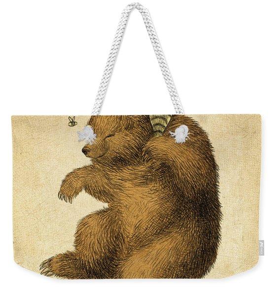 Honey Bear Weekender Tote Bag