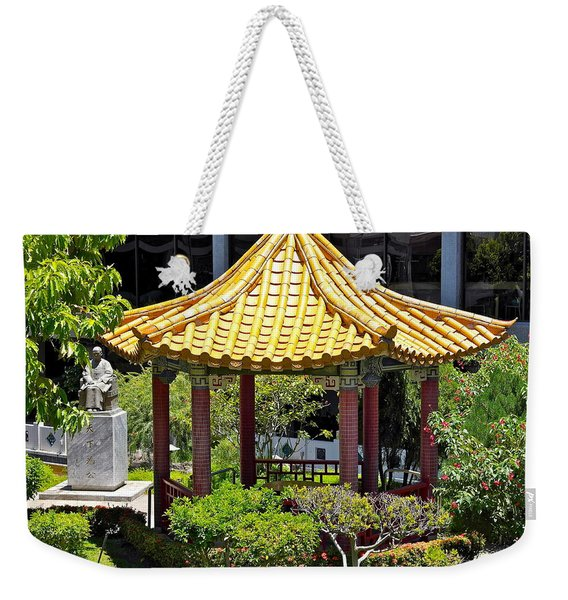 Honolulu Airport Chinese Cultural Garden Weekender Tote Bag