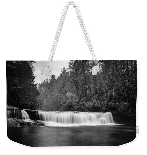 Hooker Falls In December Weekender Tote Bag