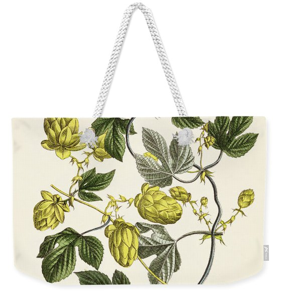 Hop Vine From The Young Landsman Weekender Tote Bag