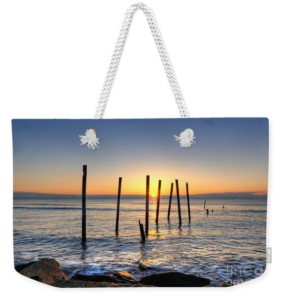 Horizon Sunburst Weekender Tote Bag