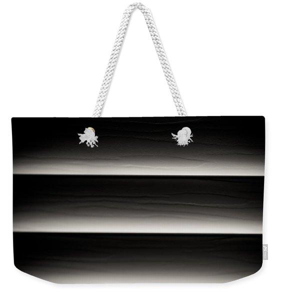 Horizontal Blinds Weekender Tote Bag