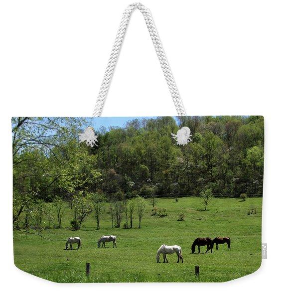 Horse 27 Weekender Tote Bag