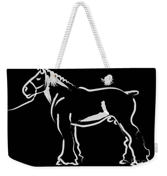Horse - Big Fella Weekender Tote Bag