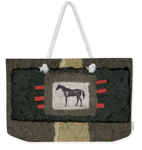 Horse Collage Weekender Tote Bag