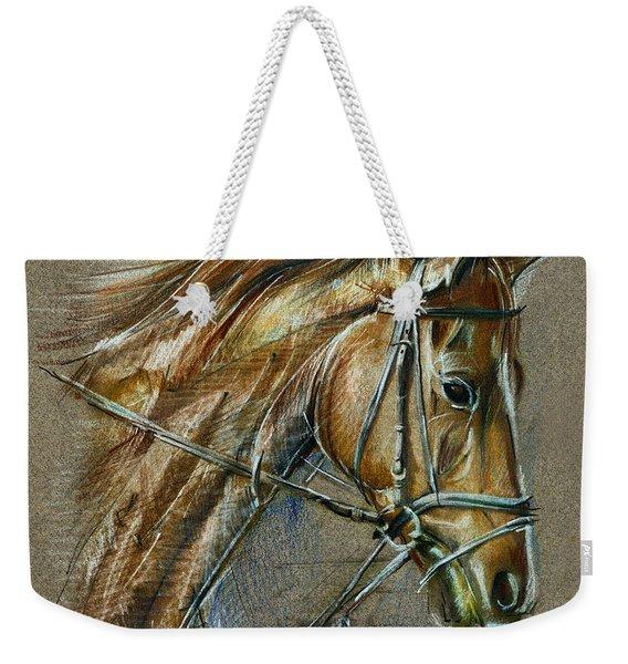 My Horse Face Drawing Weekender Tote Bag