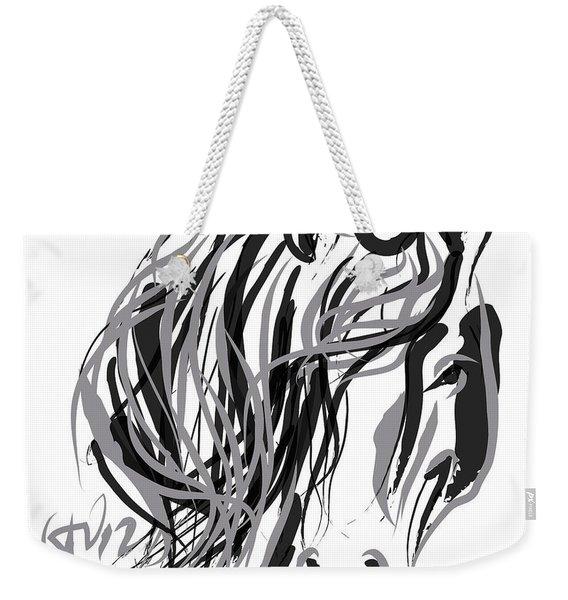 Horse- Hair And Horse Weekender Tote Bag