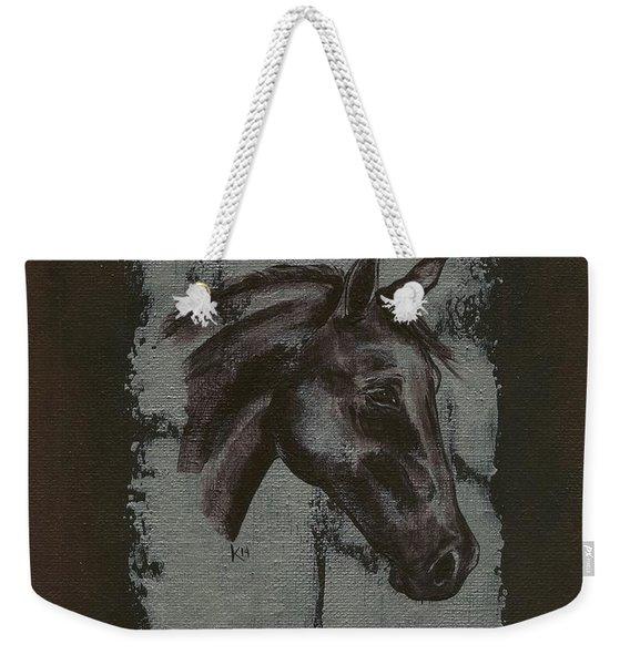 Horse Portrait Weekender Tote Bag