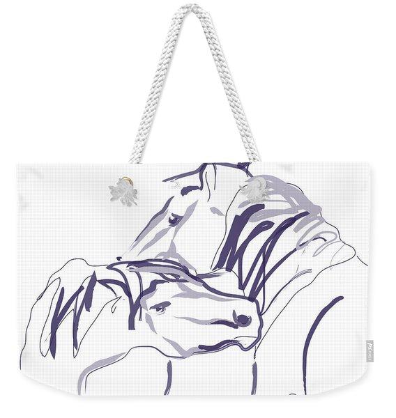 Horse - Together 10 Weekender Tote Bag