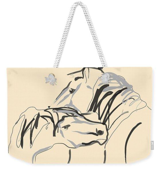 Horse - Together 4 Weekender Tote Bag