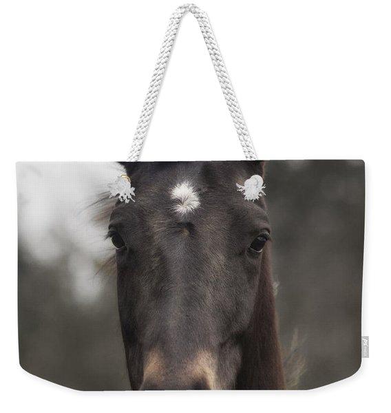 Horse With Gentle Eyes Weekender Tote Bag