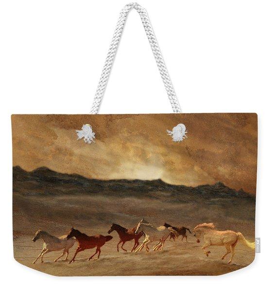 Horses Of Stone Weekender Tote Bag