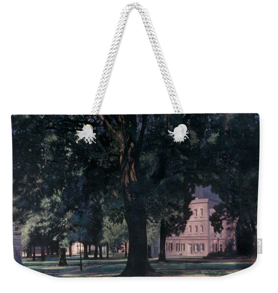Horseshoe At University Of South Carolina Mural 1984 Weekender Tote Bag