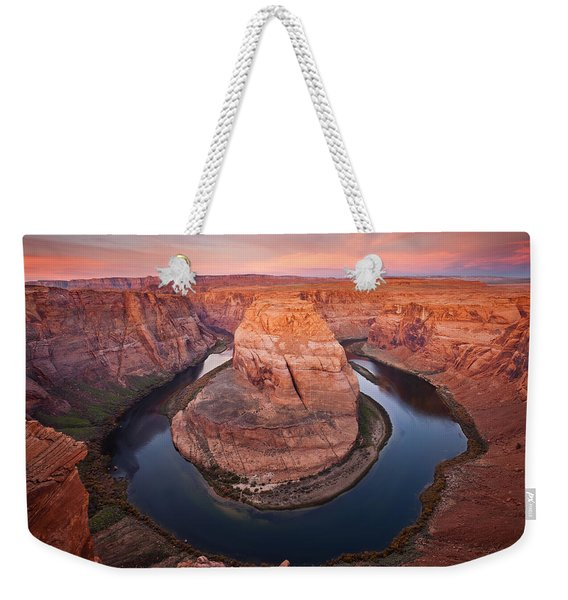 Horseshoe Dawn Weekender Tote Bag