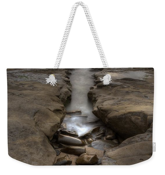 Horseshoes Beach Tidepools Weekender Tote Bag