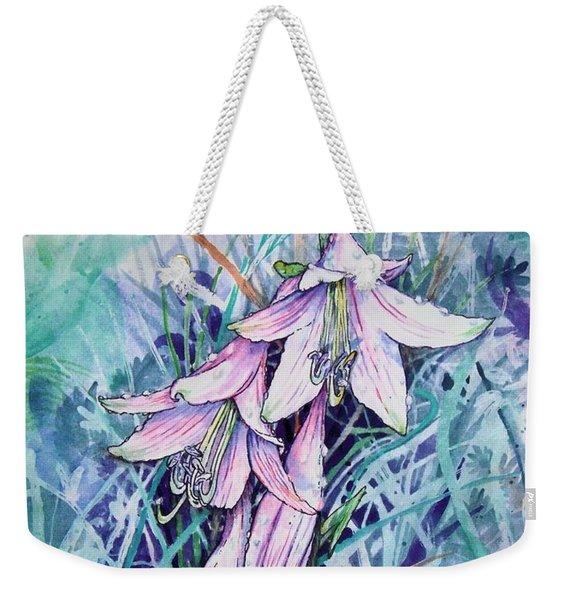 Hosta's In Bloom Weekender Tote Bag
