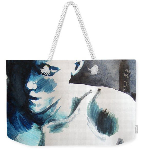 Hot Child In The City Weekender Tote Bag