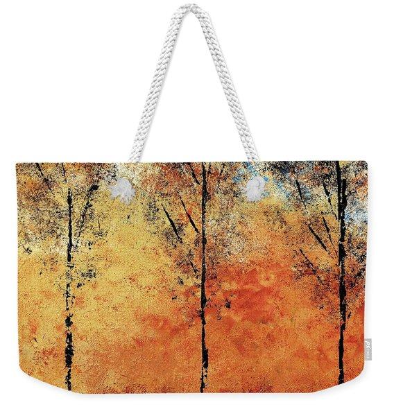 Hot Hillside Weekender Tote Bag