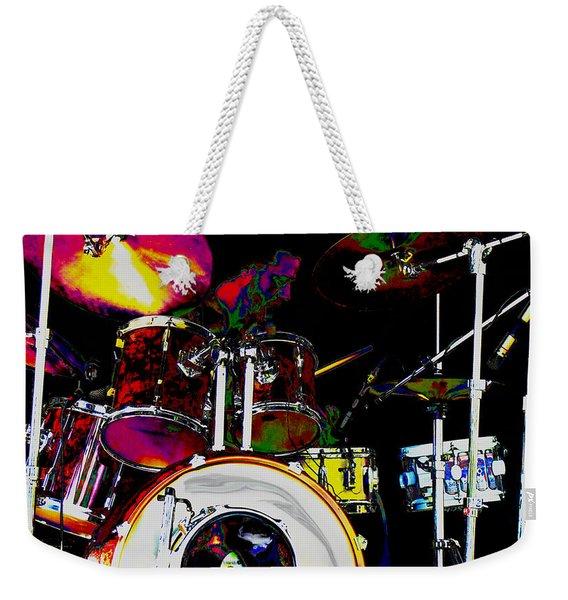 Hot Licks Drummer Weekender Tote Bag
