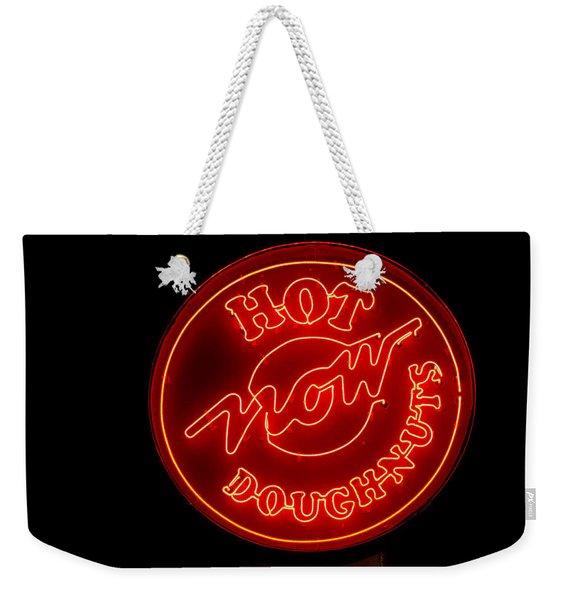 Hot Now Krispy Kreme Weekender Tote Bag