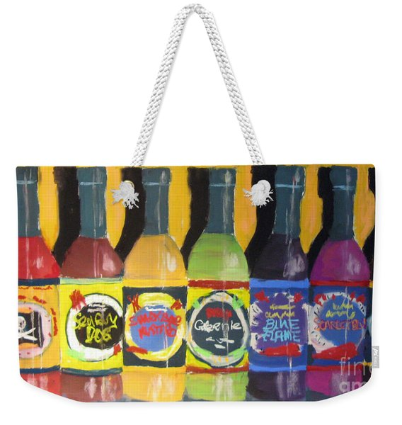 Hot Shelf Weekender Tote Bag