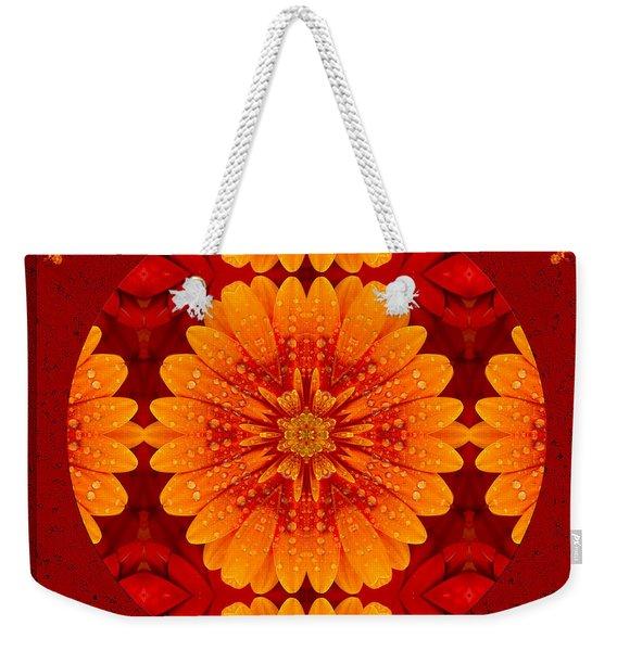 Hot Tropical Zen Weekender Tote Bag