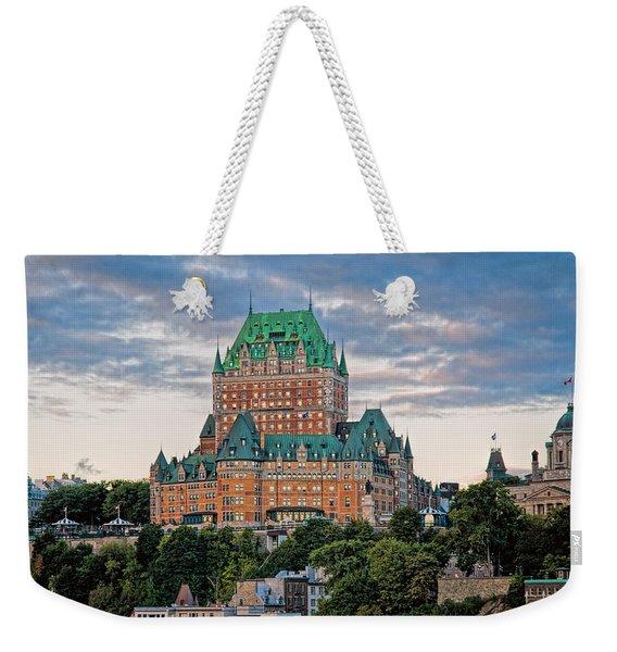Fairmont Le Chateau Frontenac  Weekender Tote Bag