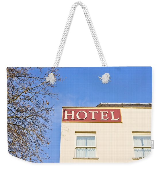 Hotel Weekender Tote Bag
