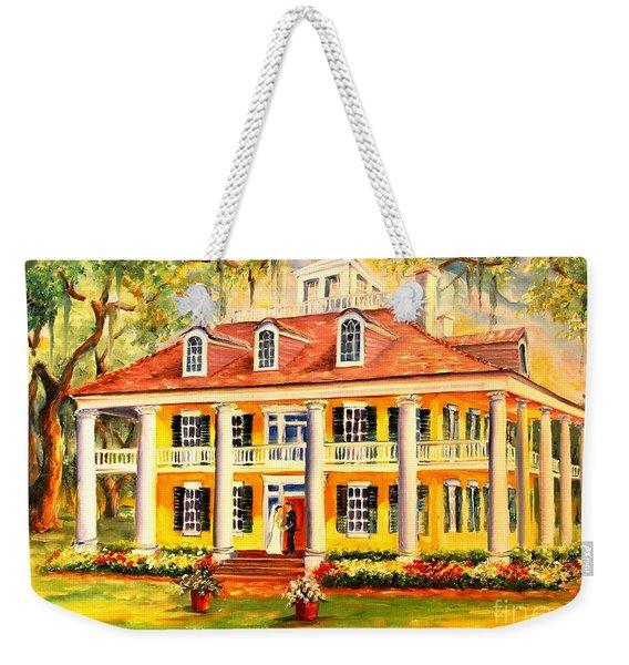 Houmas House Wedding Weekender Tote Bag