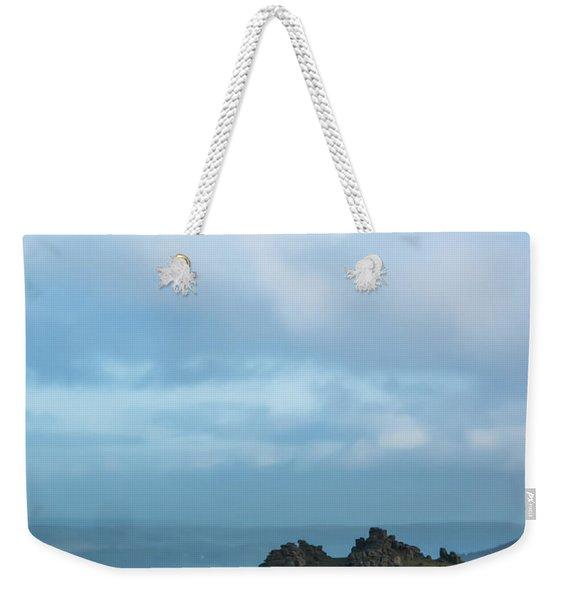 Hound Tor On Dartmoor  Weekender Tote Bag