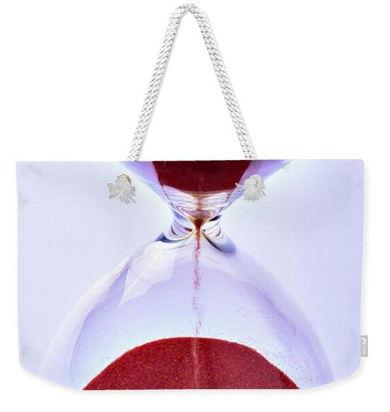 Hourglass Weekender Tote Bag