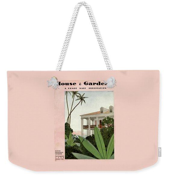 House & Garden Cover Illustration Weekender Tote Bag