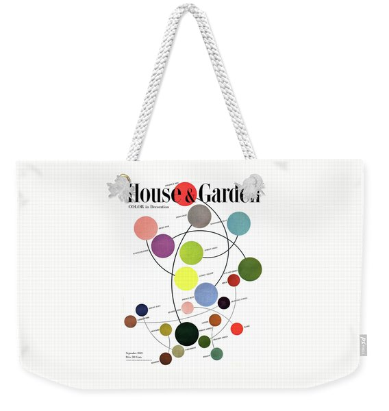 An Illustration Of Color Weekender Tote Bag