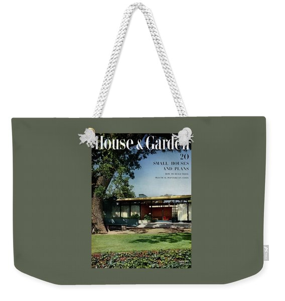 House & Garden Cover Of The Kurt Appert House Weekender Tote Bag