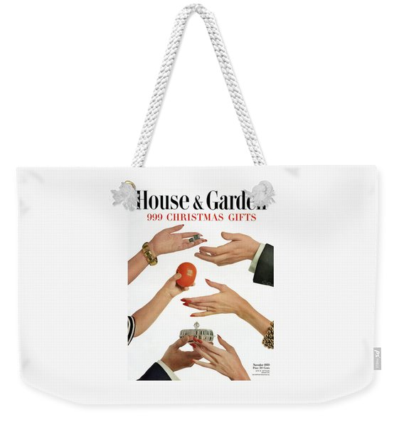 House And Garden 999 Christmas Gifts Cover Weekender Tote Bag