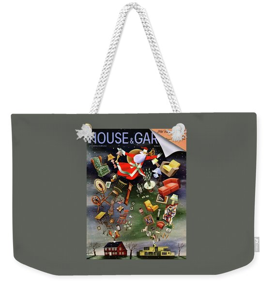 House And Garden Christmas Gifts Cover Weekender Tote Bag