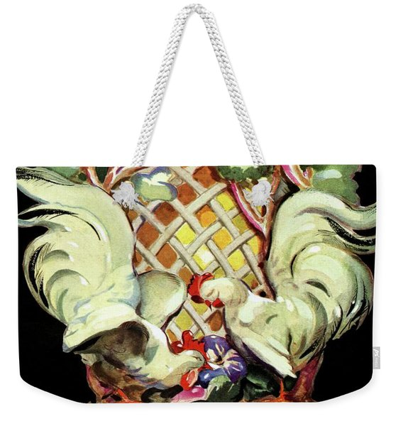 House And Garden Furniture Number Weekender Tote Bag