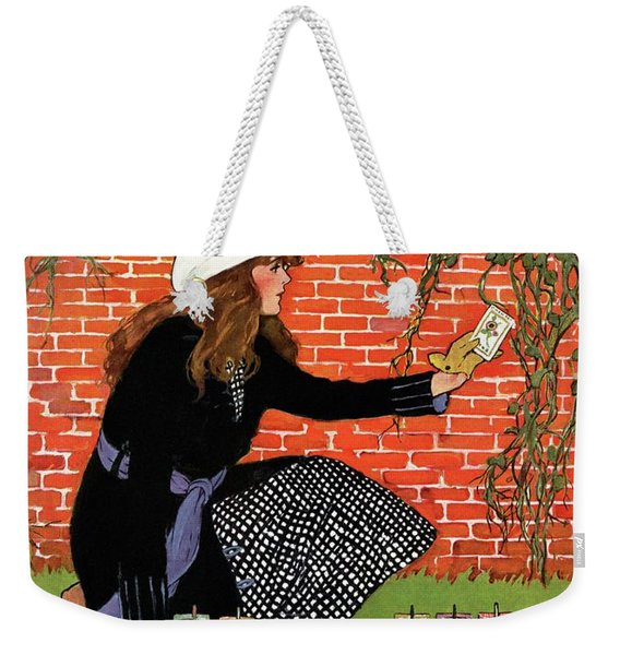 House And Garden Garden Planting Number Cover Weekender Tote Bag